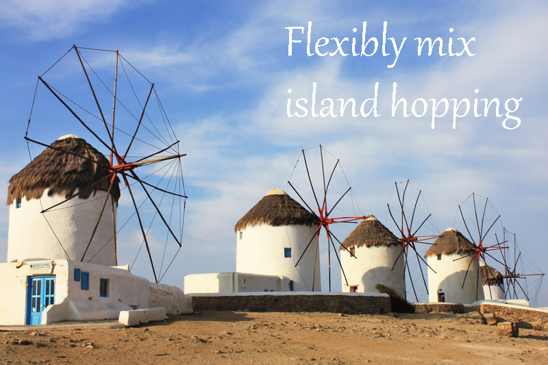 Flexible island hopping