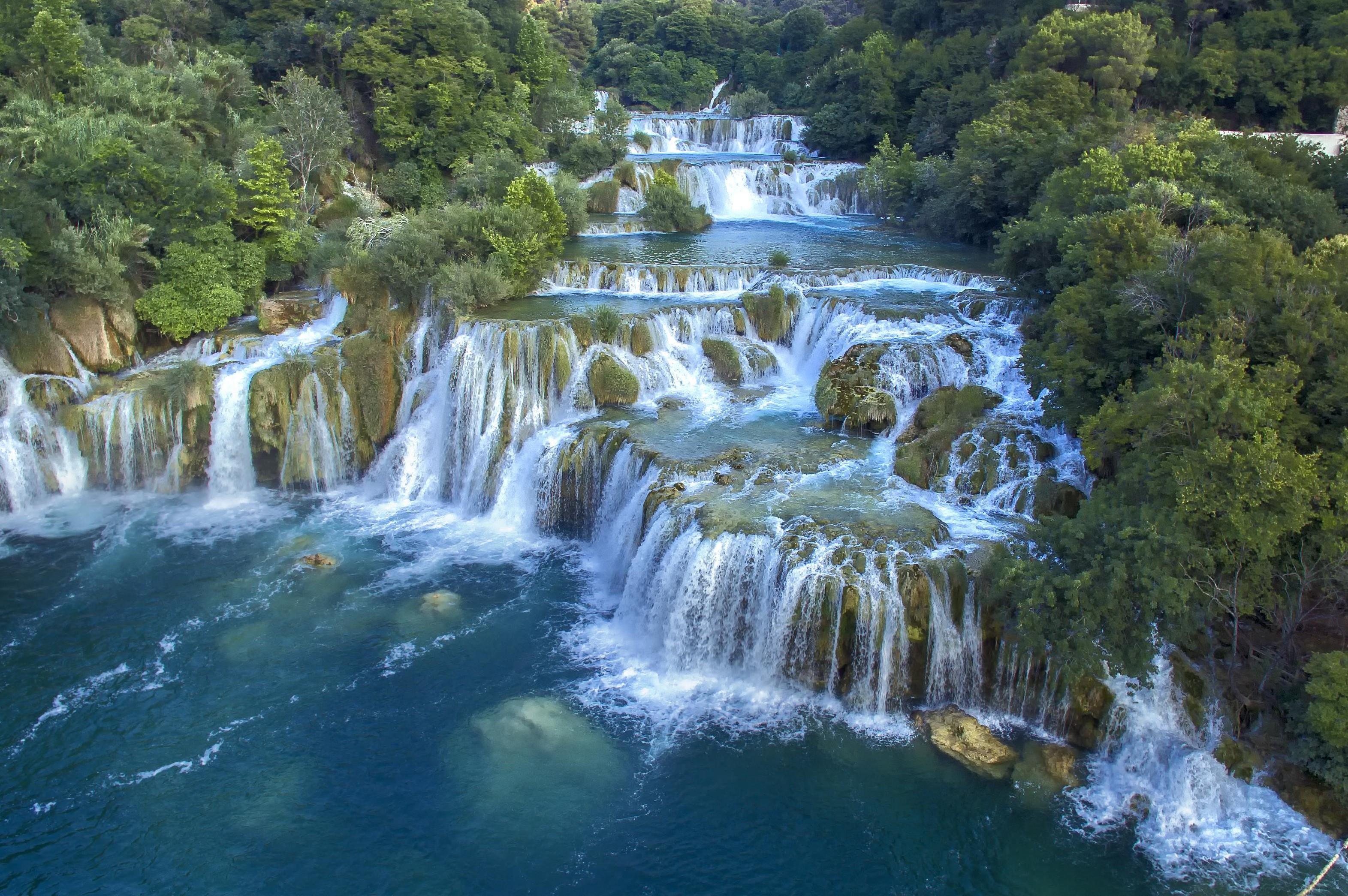 Krka waterfalls © HTB Ivo Biocina