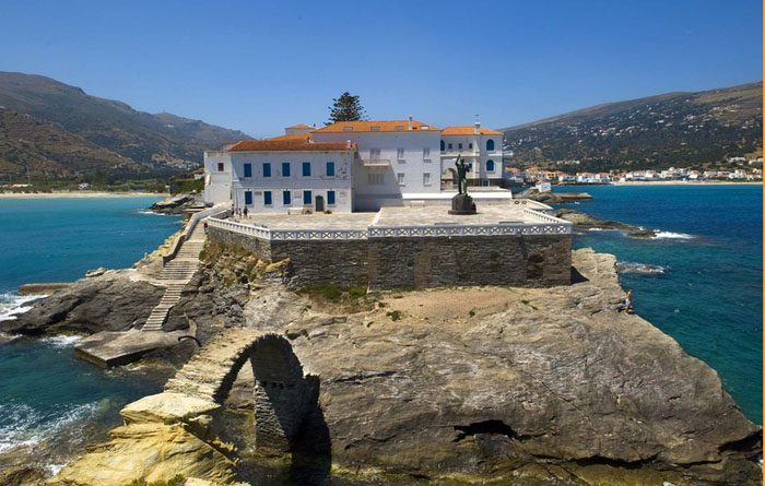 Island hopping Andros